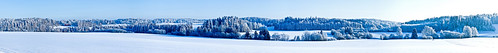 blue winter panorama snow cold field rural forest finland scenery open snowy sipoo wintery hindsby