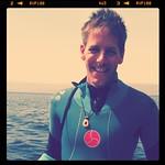 Dan ready for 2nd dive - Aqaba, Jordan