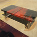red chevrolet truck coffee table by Weld House LLC
