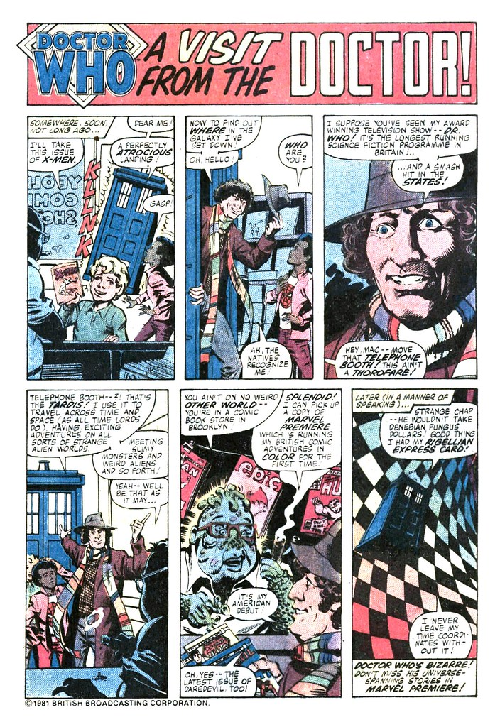 Adventures in the 9th Dimension – Dr Who Comics | The Doctor