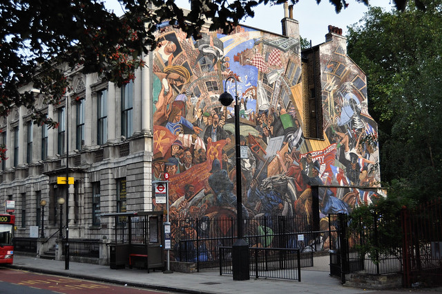 Battle of cable street mural flickr photo sharing for Cable street mural