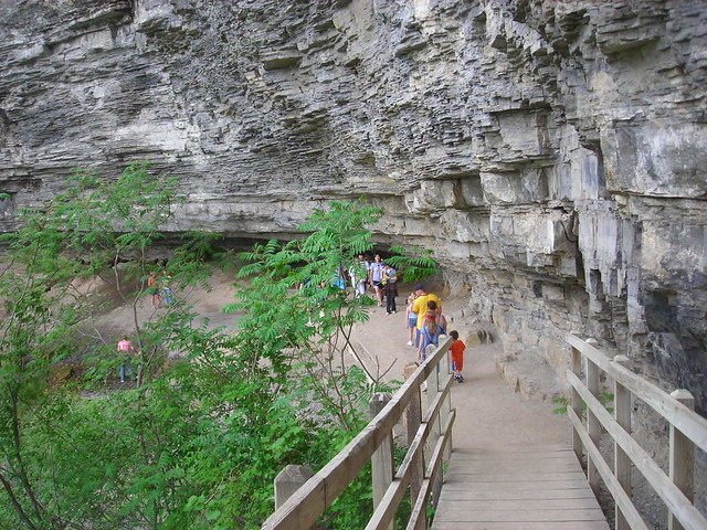 Indian Ladder Trail John Boyd Thacher State Park New