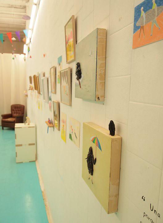 La expo de Miju Lee en Duduá