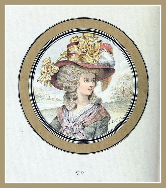 Hats by Madame Bertin 1788