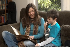 aunt allie reading to nick