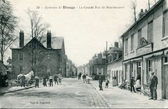 50. Environs de Blangy - La Grande Rue de Bouttencourt (undated)