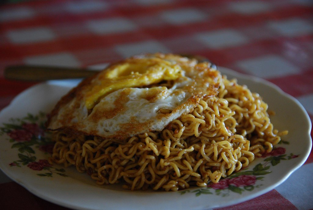 Mie Goreng with Fried Egg - - Bali Food