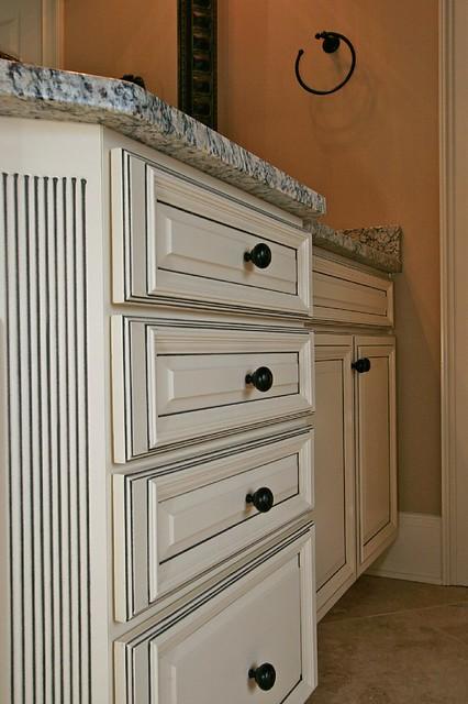 Franklin French Vanilla Charcoal Pen Glaze Cabinets 21