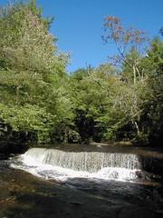 A Cascade at Stepstone Falls
