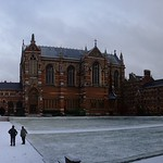 In the Snow, Keble College, Oxford