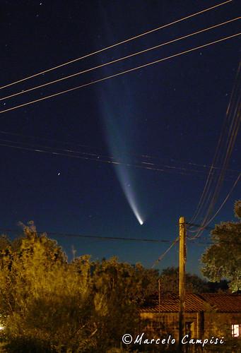 Cometa McNaught en primer plano