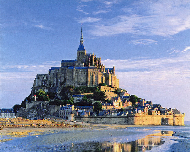 Le Mont St Michel......Basse-Normandie   FRANCE