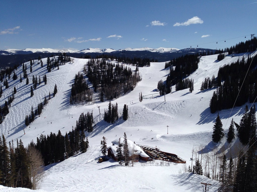 Black diamond runs at Aspen