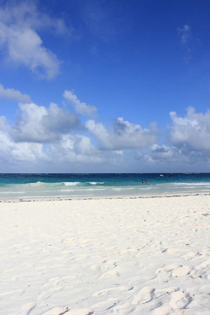 White sand beach Tulum Mexico - Charlie on Travel 2