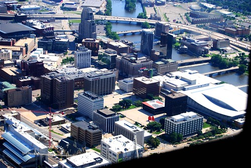 Grand Rapids Michigan / Bird's Eye View