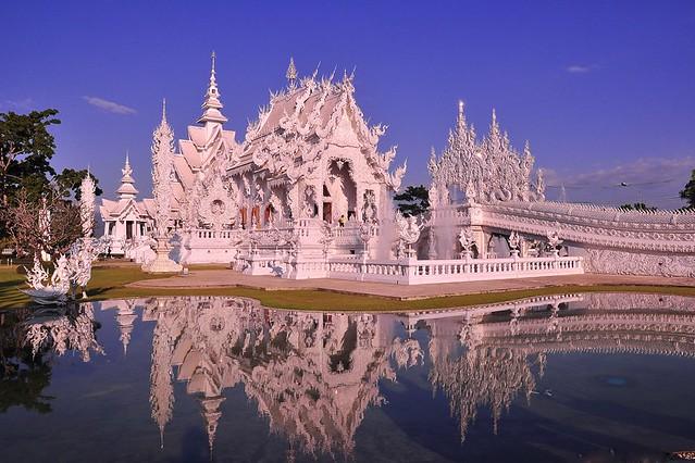 "Wat Rong Khun ""The White Temple"", Chiang Rai, Thailand"