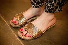 pattern, footwear, red, sandal, limb, leg, foot, nail, toe,