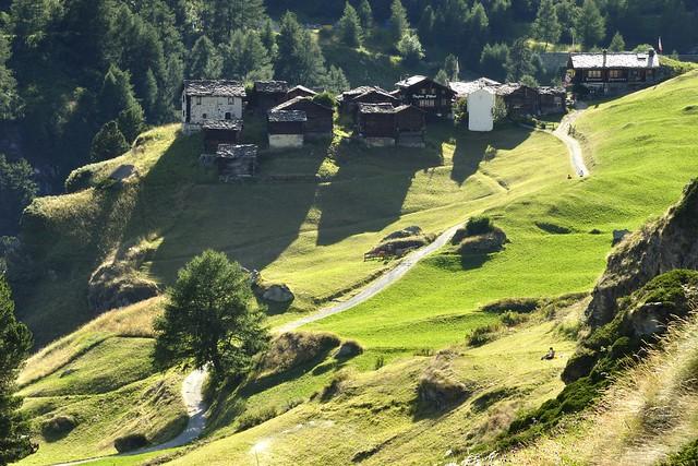 Zmutt, près de Zermatt