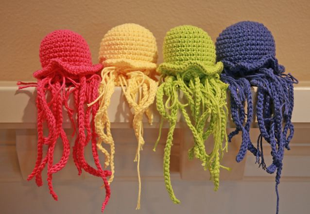 Onigiri Amigurumi Pattern Free : amigurumi jellyfish Flickr - Photo Sharing!