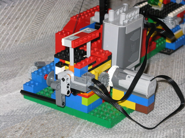 Lego Catapult Motor And Transmission Flickr Photo Sharing