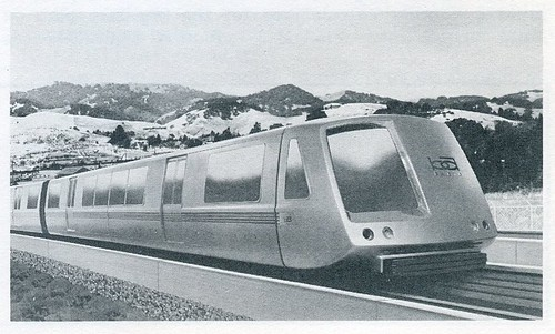 BART rapid transit car (1967)