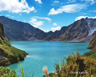 The Majestic  Crater Lake of Mt. Pinatubo