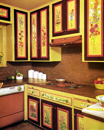 Kitchen Colors of the 50's, 60's and 70's