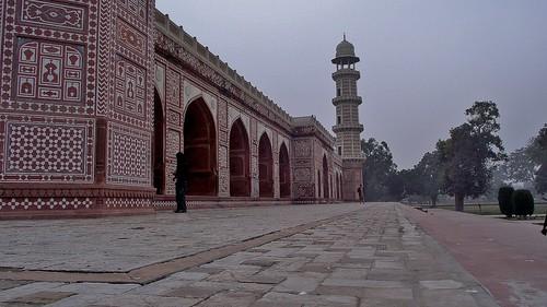 Jehangir's Tomb in Lahore, Pakistan - January 2011