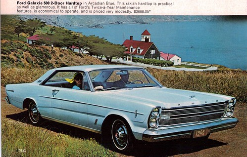 1966 Ford Galaxie 500 2 Door Hardtop