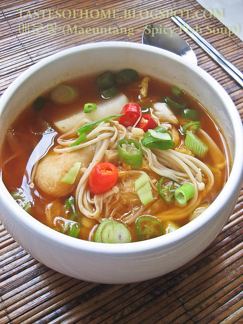Maeuntang spicy fish soup flickr photo sharing for Spicy fish soup