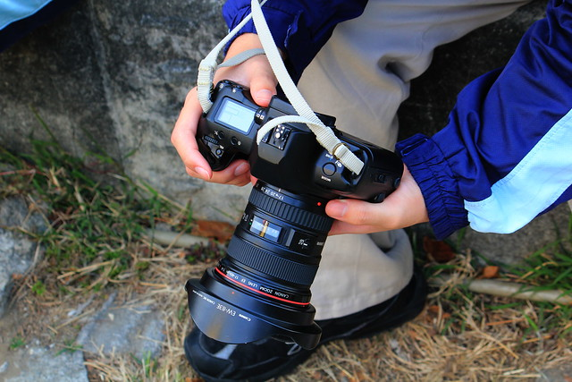 Canon EOS 3 with EF 17-40mm F4L Superwide Lens