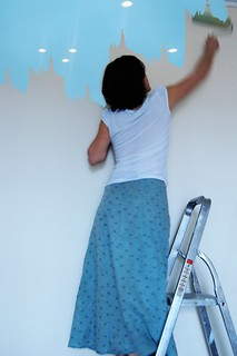 Painting walls with small lamps.... #3
