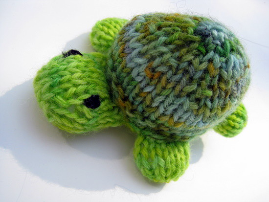 Knitting Patterns Turtle Toy : Knitted Turtle Toy Flickr - Photo Sharing!