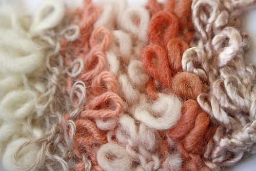 Knitting Loop Stitch : Fashion introduction to knit
