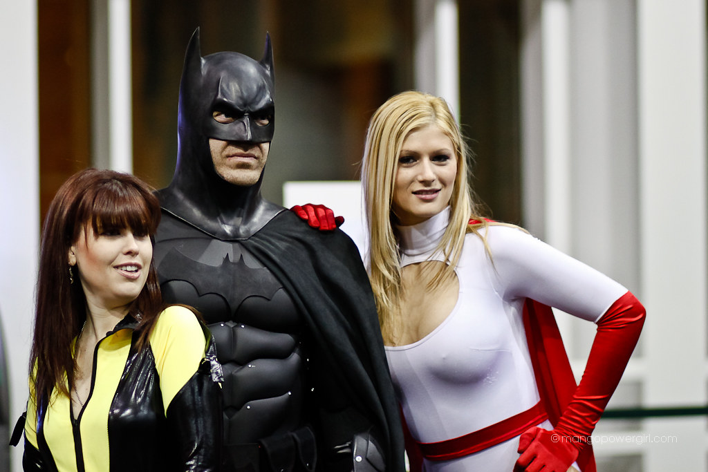 silk spectre batman & power girl