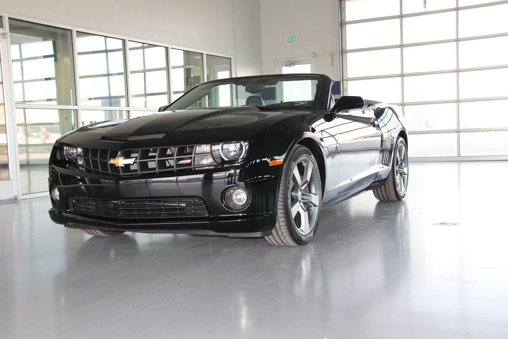 2011 Chevy Camaro Convertible Dallas Ft Worth Chevrolet De
