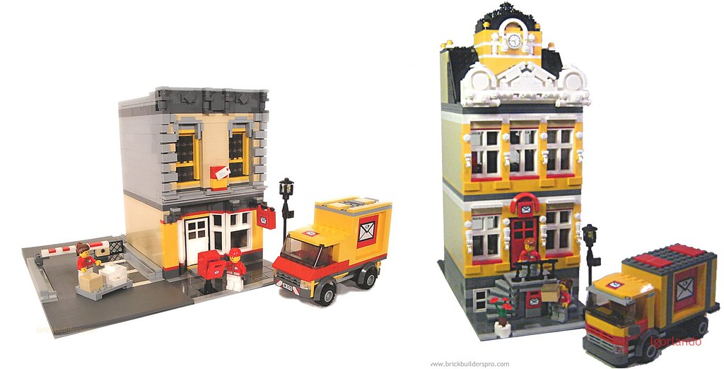Lego City Post Offices