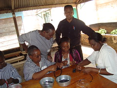 GGM training in progress at Thika Prison, Nairobi