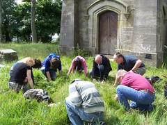 Barnweilgroup prayer at Wallace Monument