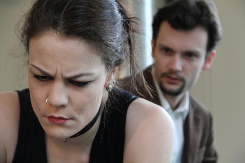 Molly und Andreas, Probenfoto Halbkontakt