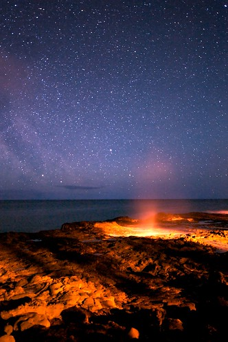 longexposure night danger stars surreal spray blowhole kauai spoutinghorn poipu geyser eruption lavashelf