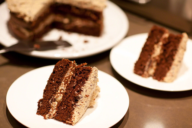 ... Chocolate cake with Coconut Cream filling | Flickr - Photo Sharing
