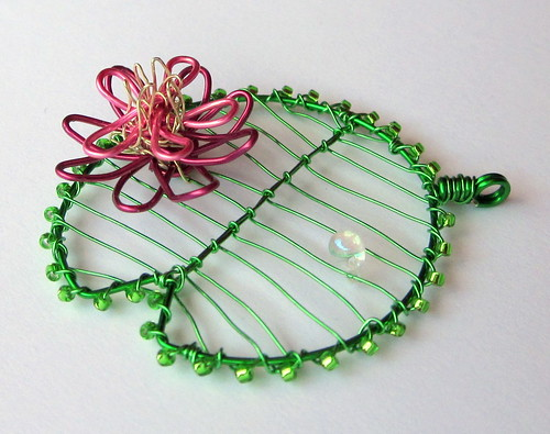 Lilypad Pendant by Louise Goodchild