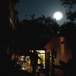 Super Moon over La Finca