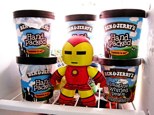 48/365 - Iron Man And The Ice Cream | Flickr - Photo Sharing!