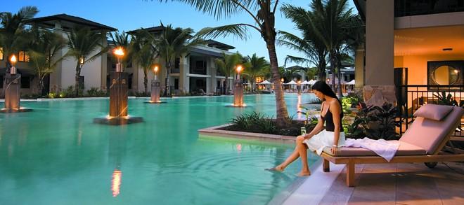 Sea Temple Resort & Spa Port Douglas - Spa Swimout
