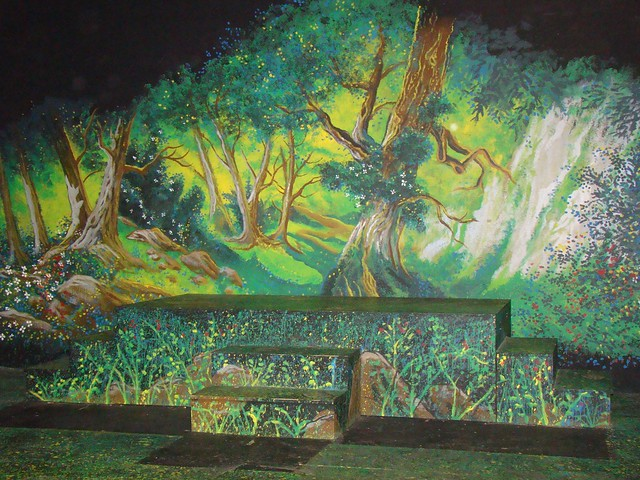 Flickr photo sharing for Fairy tale mural