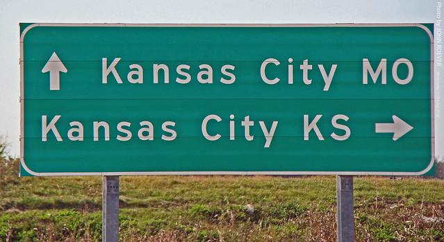 Sign For Kansas City Ks Amp Mo 13 Oct 2010 At The