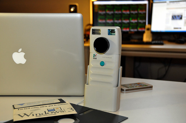 1991: DYCAM-MODEL I/ LOGITECH FOTOMAN. Dycam Inc., Chatsworth, California-USA