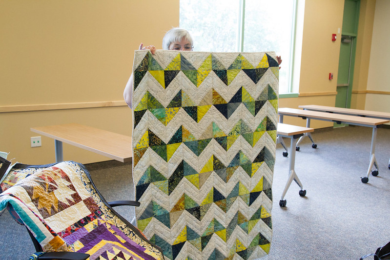 April 2014 Tampa Modern Quilt Guild - Sew and Share